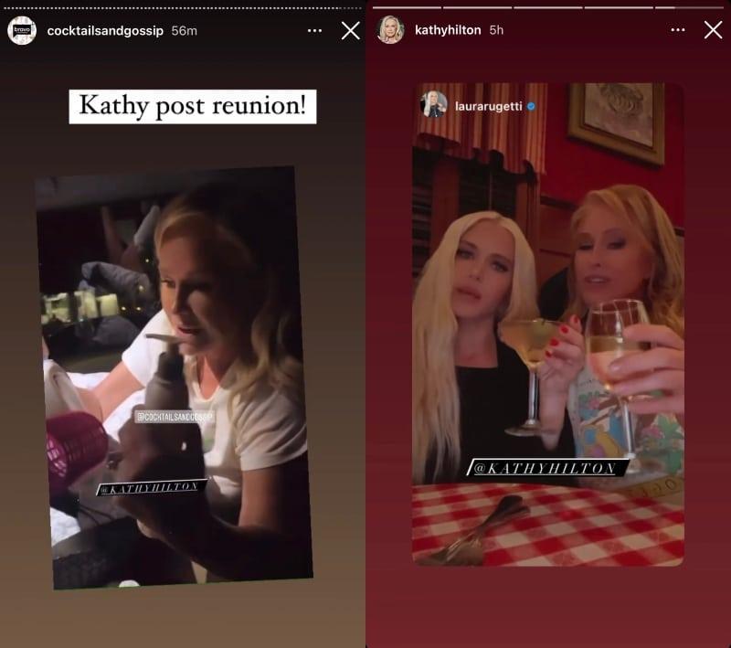 Kathy Hilton After RHOBH Season 11 Reunion Taping