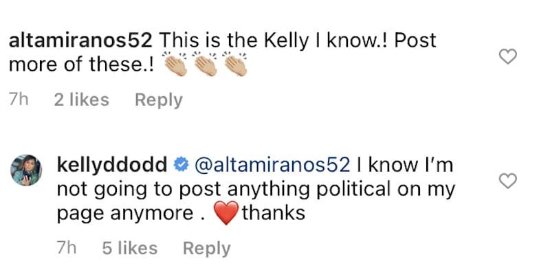 rhoc kelly dodd quits sharing political posts on instagram
