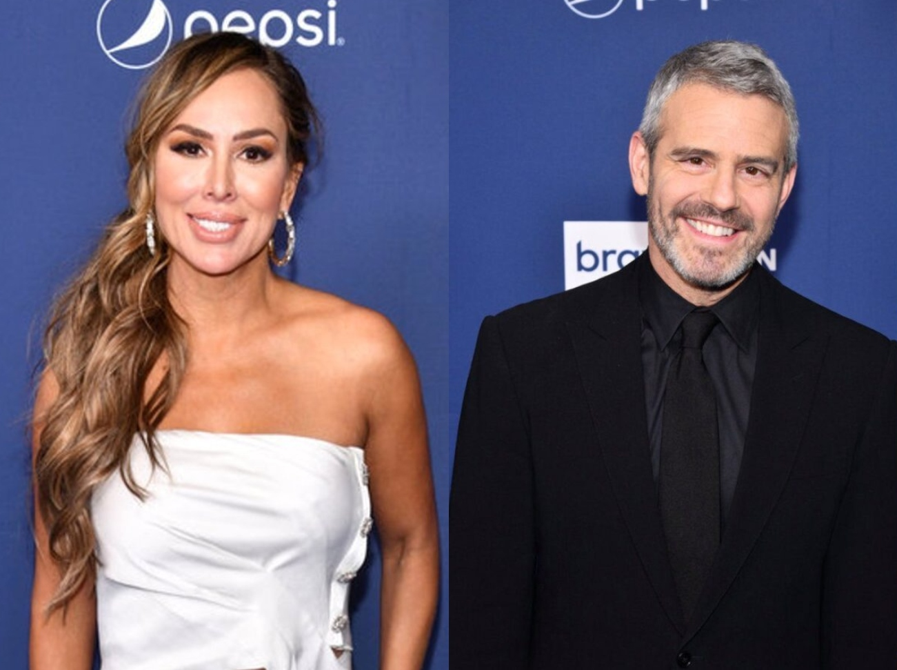 Kelly Dodd calls out Andy Cohen to say she's on the wrong side of the story, RHOC Alum insists she's right