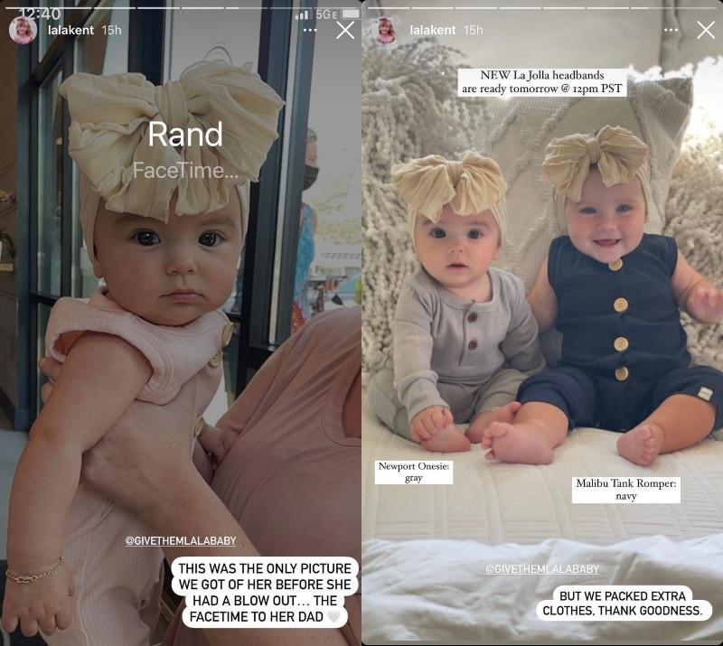 vanderpump rules lala kent shares new pics of daughter ocean kent emmett