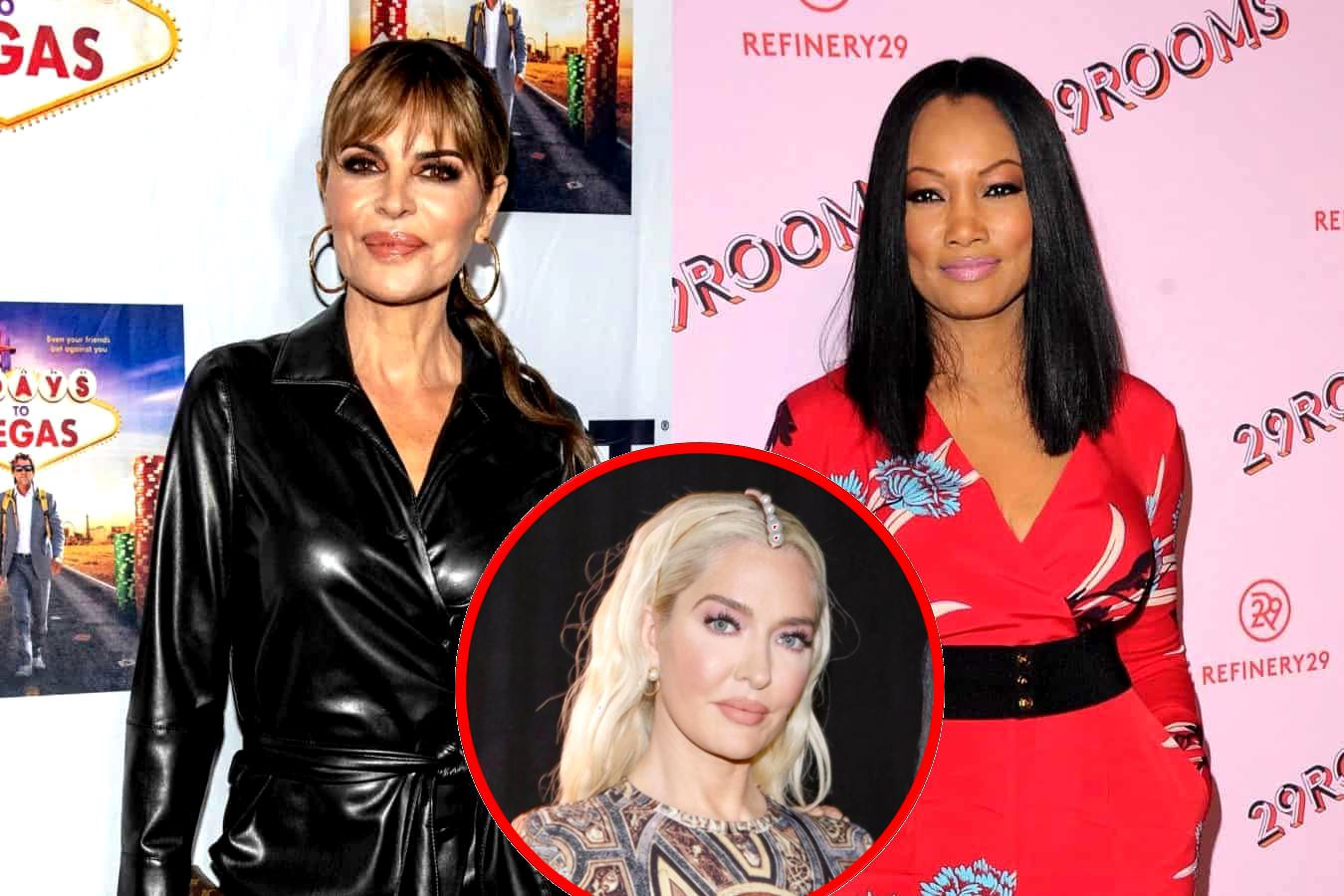 """REPORT: Lisa Rinna and Garcelle Beauvais 'Fought Hard' at RHOBH Reunion Taping as Lisa Defended Erika, Plus Andy Cohen """"Went Hard"""" on Erika"""