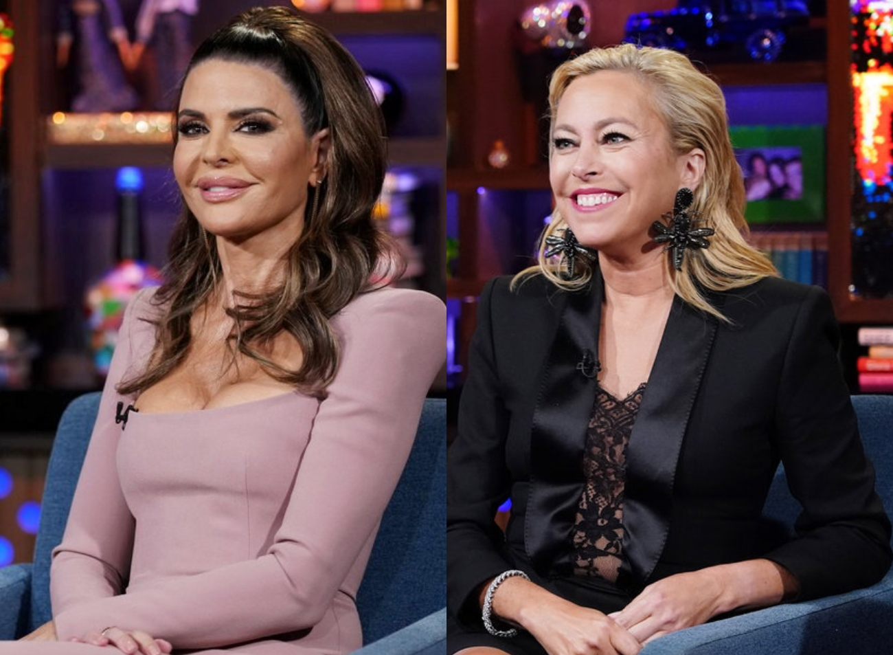 """RHOBH's Lisa Rinna Continues to Shade Sutton Stracke Over Elton John Gala Drama, Admits to Being """"Petty"""" and Slams Sutton for Lack of """"Class"""""""
