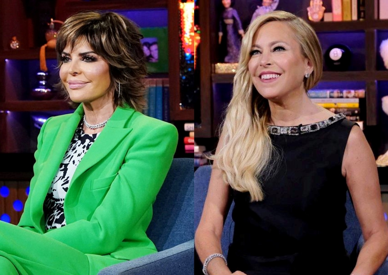 """RHOBH's Lisa Rinna Laughs at """"Dumb"""" Sutton Stracke and Fires Back at Allegations of Hypocrisy, Plus Did She Accuse Sutton of """"Gaslighting"""" Erika Jayne?"""