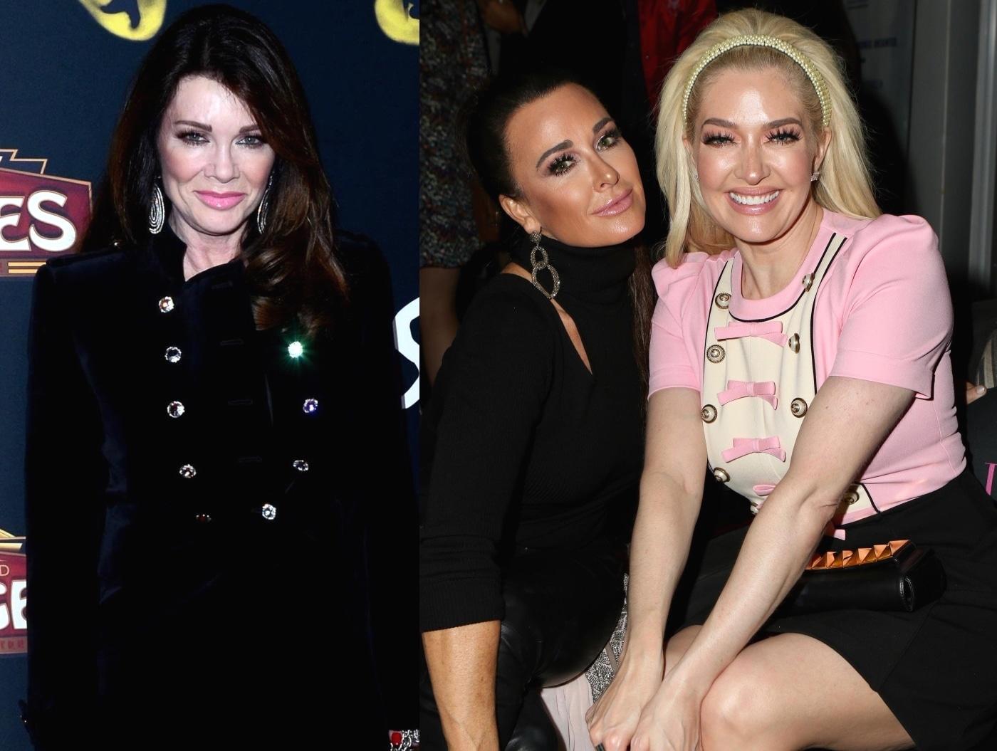 "Lisa Vanderpump Confirms It's Kyle Richards Who Spread Rumors About Erika Jayne as RHOBH Alum Slams Erika for ""Obnoxious"" Behavior With Money"