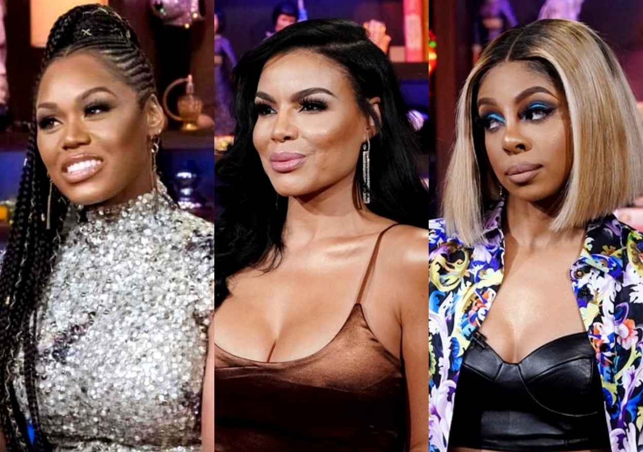 """RHOP's Monique Samuels Reacts to Mia and Candiace's Feud After Mia Fires Back at """"Big Feet"""" Diss By Sharing Closeup of Candiace's Feet, See the Shady Posts"""