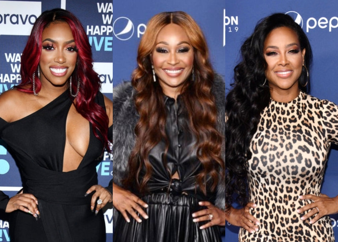 Are Porsha Williams and Cynthia Bailey Leaving RHOA? Find Out What Sources Are Saying As Kenya Moore Reacts To Her Own Firing Rumors