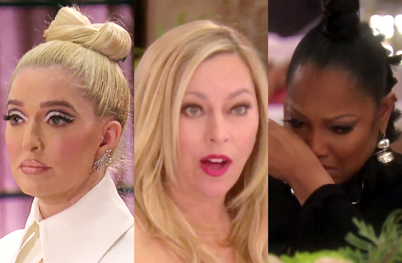 """RHOBH Recap: Erika is Devastated After Learning Tom May be Institutionalized and Calls Sutton """"Small Minded,"""" Plus Garcelle Gets Emotional Sharing Her Experience"""