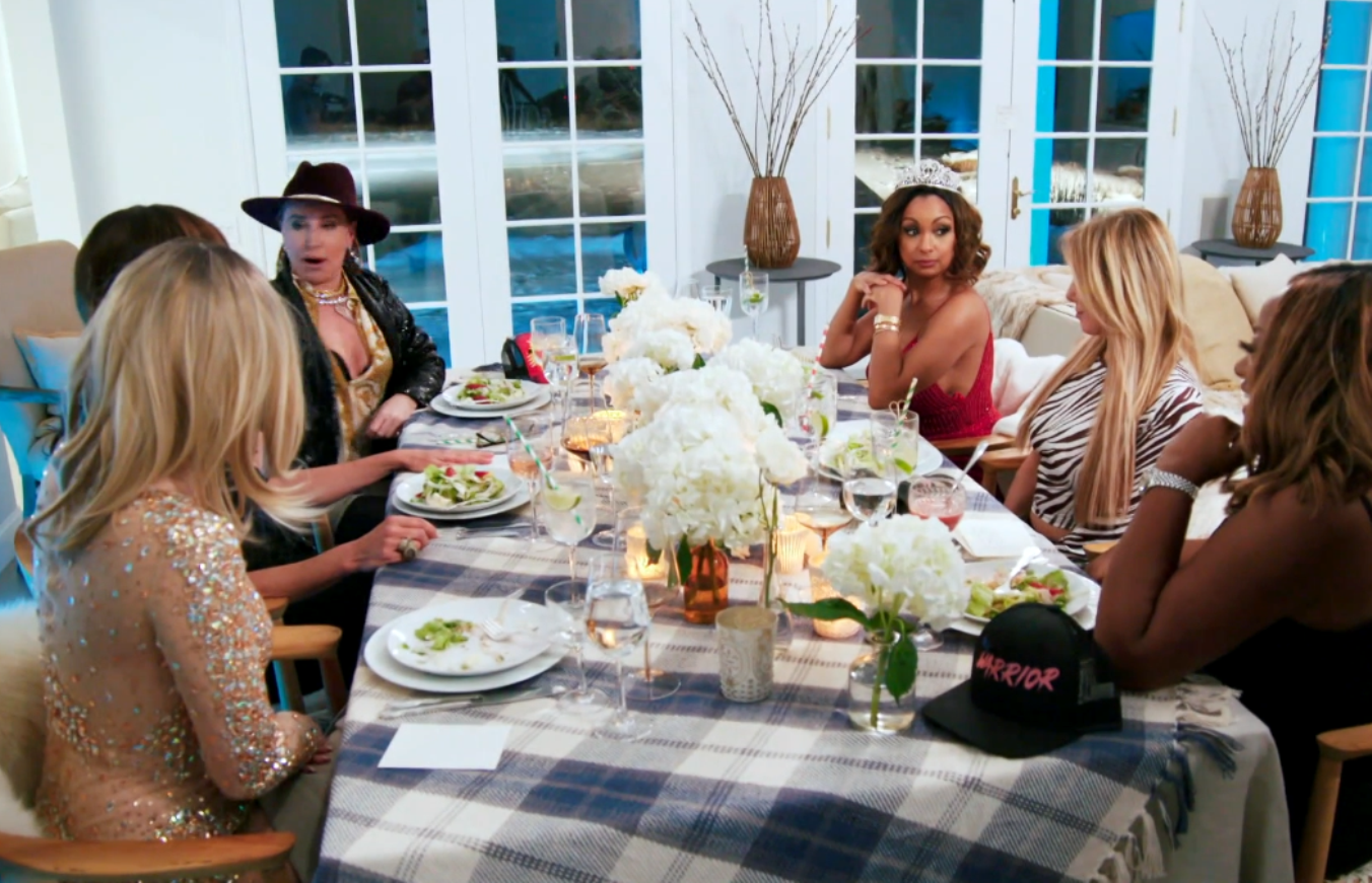 RHONY Season Finale Recap: The ladies do an Identity Swap game and Ramona encourages everyone to go topless
