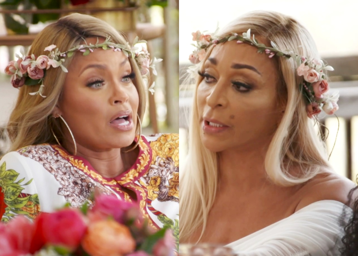 RHOP Recap: Candiace and Ashley resume their nasty dispute Plus Mia has a Goddess party in hopes of mending the relationships
