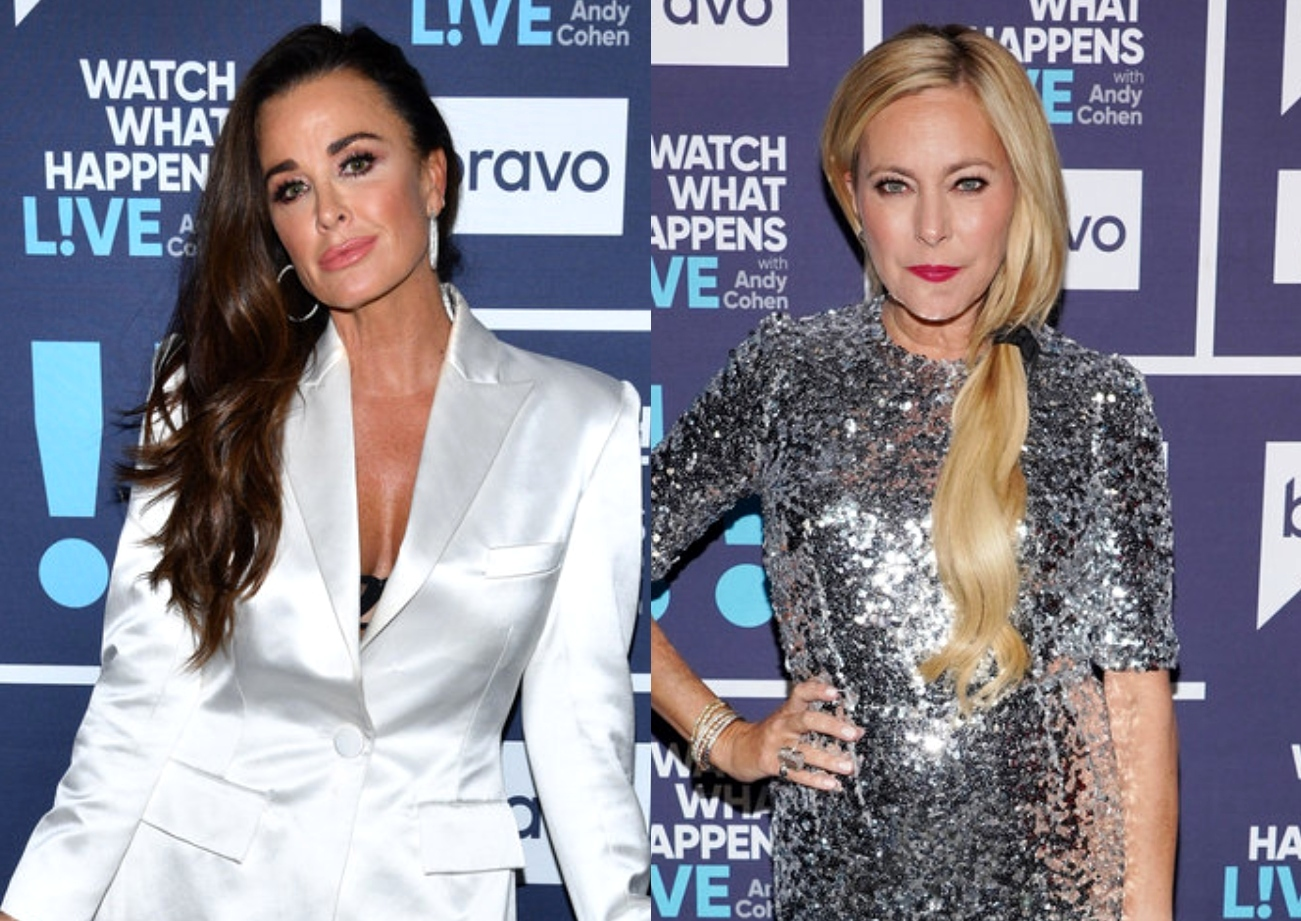 """RHOBH's Kyle Richards Reacts to Sutton Stracke's """"Friend"""" Diss and Slams Claim as a """"Lie"""" as Sutton Admits to Harboring Anger and Says She Was Wrong"""