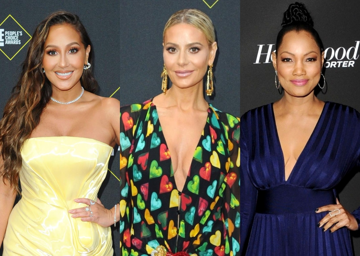 """The Real's Adrienne Bailon Calls Out Dorit Kemsley for Screaming at Garcelle Beauvais at RHOBH Reunion, Says She's """"Pissed"""" and Wants to """"Fight"""""""