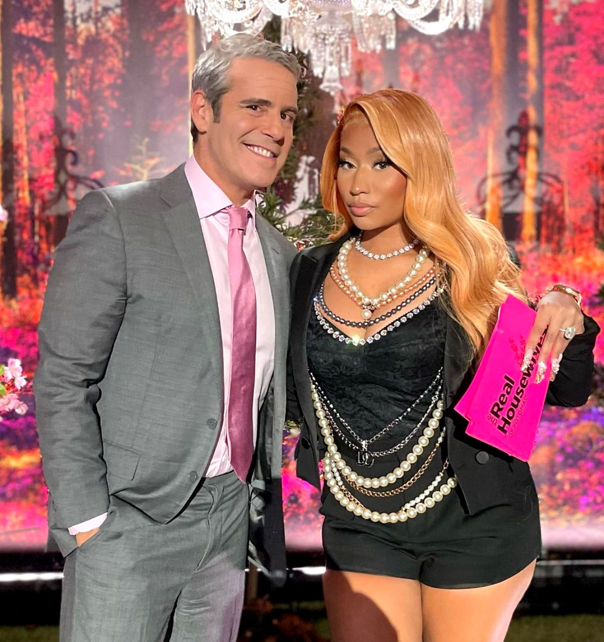 """PHOTOS: Nicki Minaj Shows Up to RHOP Reunion, See How Cast Reacted as Kelly Dodd Shades """"Woke"""" Bravo for Supporting Rapper"""