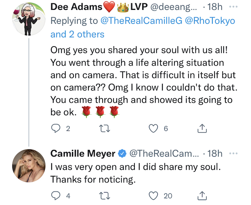 rhobh camille grammer says she was very open on rhobh