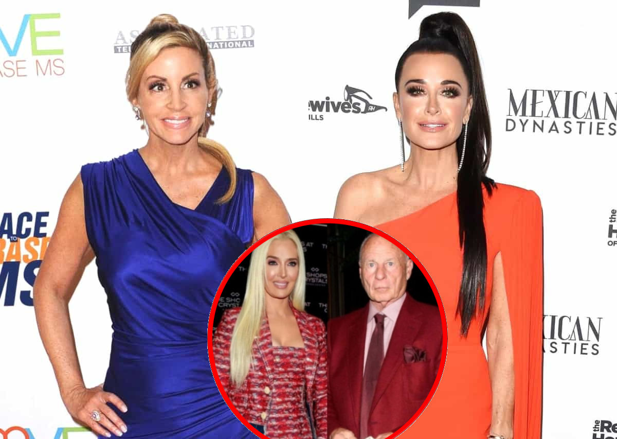 Camille Grammer Claims It Was Kyle Richards Who Spread Rumors About Tom and Erika's Finances as Lisa Vanderpump Reacts, Plus Denies Obsessing Over RHOBH