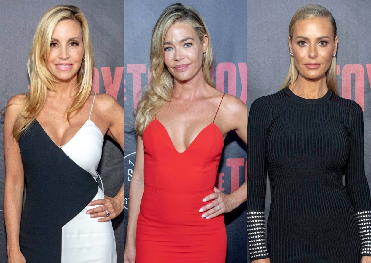 RHOBH's Camille Grammer Says Denise Should Replace Dorit, Reacts to Getting Higher Ratings on WWHL Than Kyle and Kathy, and Shares Why She Won't Return
