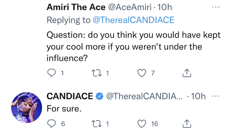 rhop candiace dillard admits she would've kept her cool if she hadn't drank