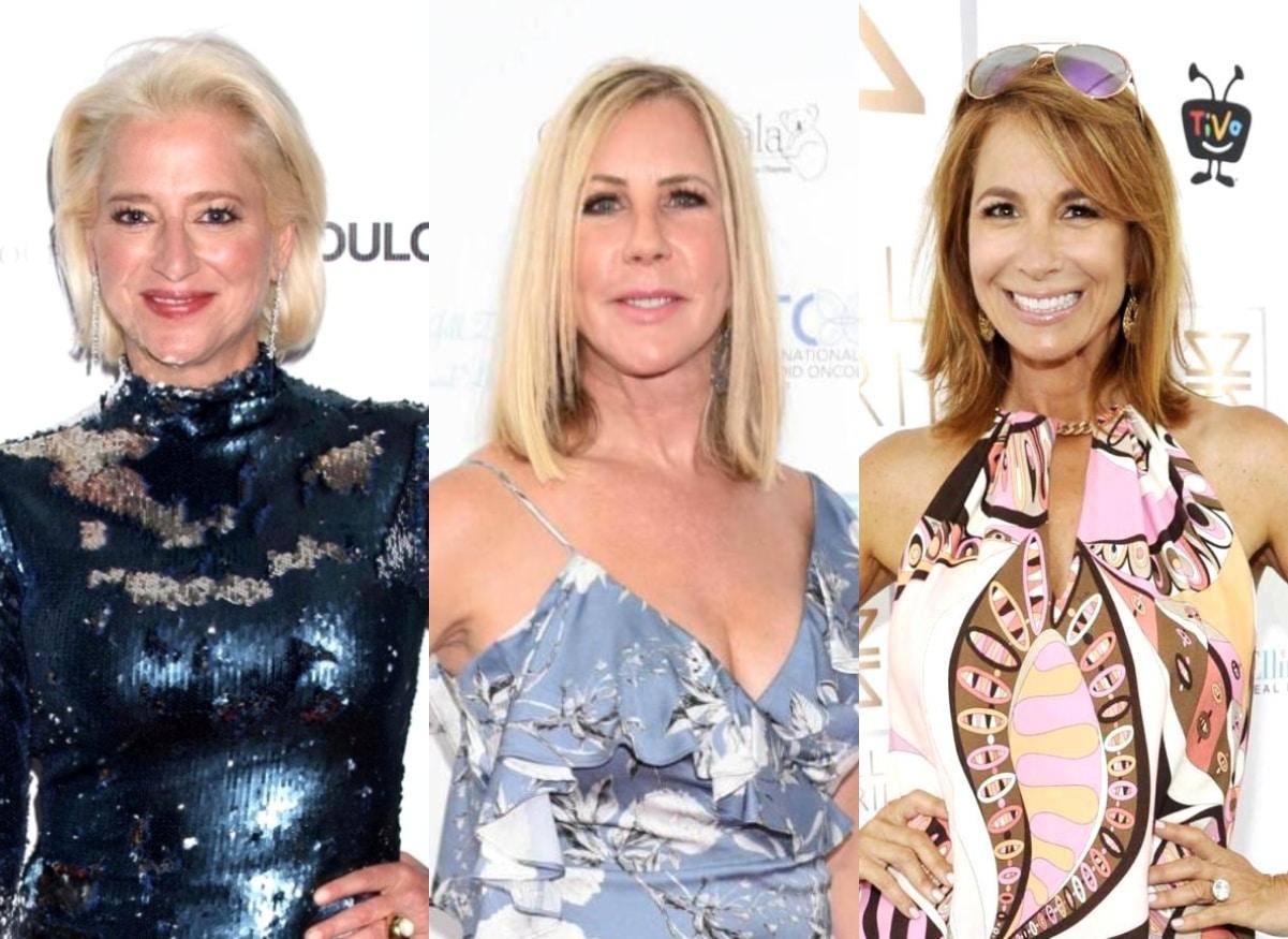 "REPORT: Dorinda Medley Fought With Vicki Gunvalson and Jill Zarin During 'RHUGT' Filming as Brandi Glanville Shocked Cast Amid ""Explosive"" Drama"