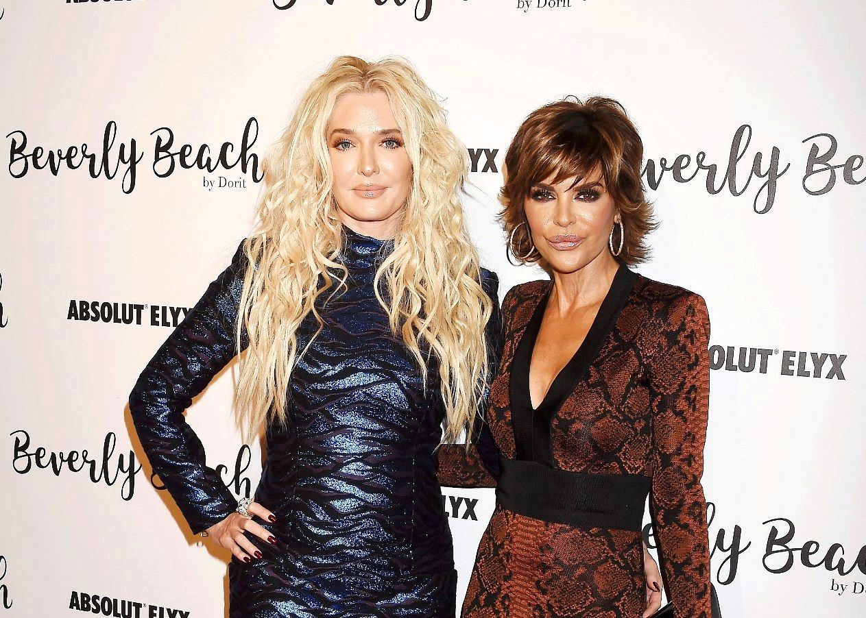 """RHOBH's Lisa Rinna Seemingly Admits Most of Erika Jayne's Stories Were """"Exaggerated"""" as She Claims She's """"Always on the Right Side of History"""""""