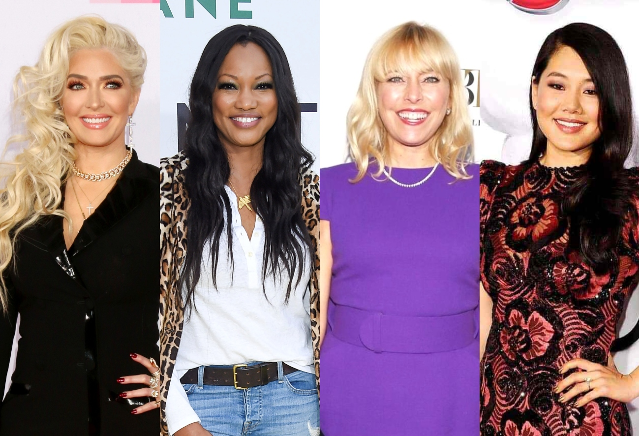"""RHOBH's Erika Jayne Slams Garcelle, Sutton, and Crystal's L.A. Times Article as """"Fiction"""" as Rinna Reacts to """"Three House-Keteers"""" Friend Group and Kathy Speaks Out"""