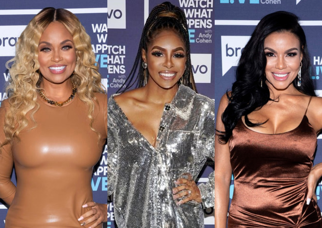 """RHOP's Gizelle Bryant Slams Candiace's """"Garbage Can"""" Mouth and Says She's Team Mia, Claps Back at Comparisons to Chateau Sheree, Plus Talks """"Puppet"""" Robyn and Ray Huger Drama"""