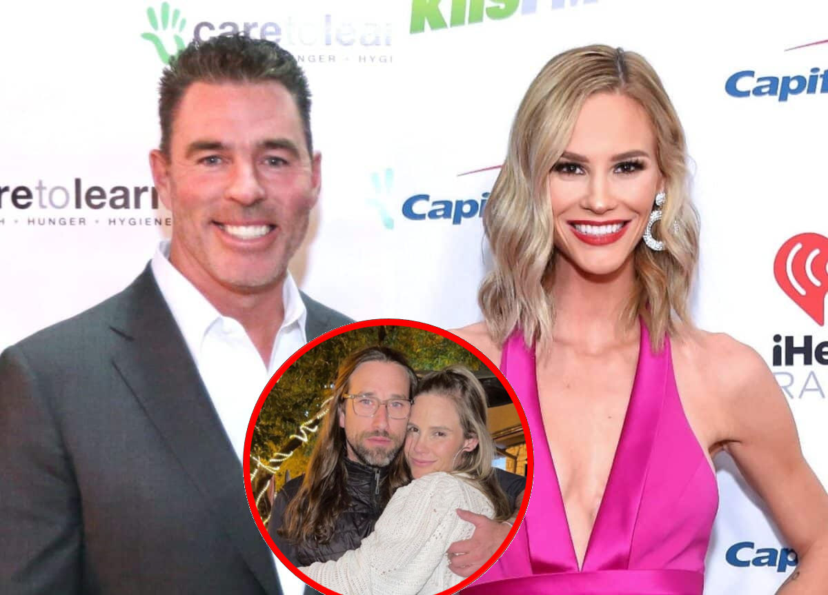 """PHOTO: Jim Edmonds Wore """"Anti Biden"""" T-Shirt Days Before Ex-Wife Meghan King Married President's Nephew, Did He Get a Heads Up? Plus, How Meghan's Family Feels About Their Union"""