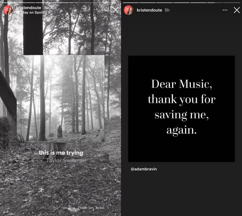 vanderpump rules kristen doute claims music saved her after rumored breakup