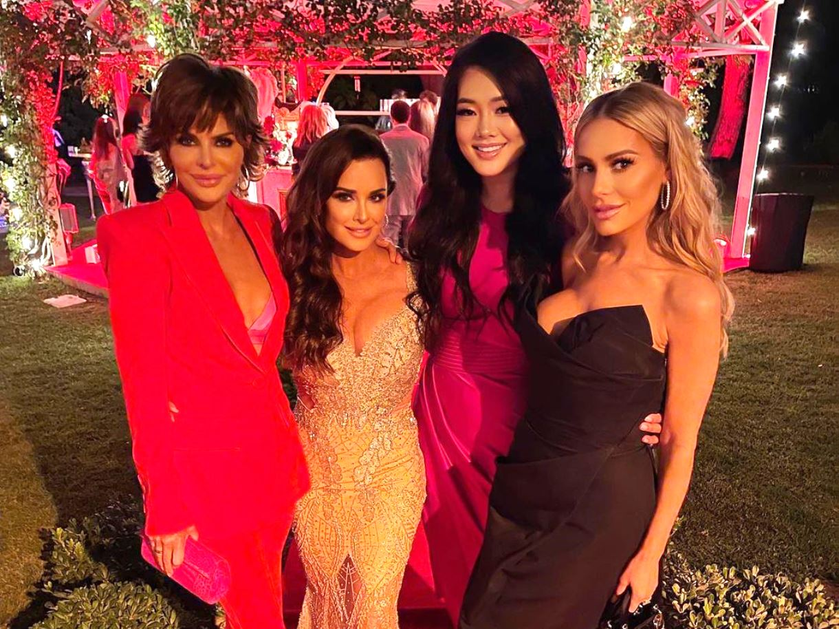 PHOTOS: RHOBH Cast Attends Bat Mitzvah for Kyle Richards' Daughter Portia Umansky, See Photos of the Circus Themed Party With Kyle's Friends and Family