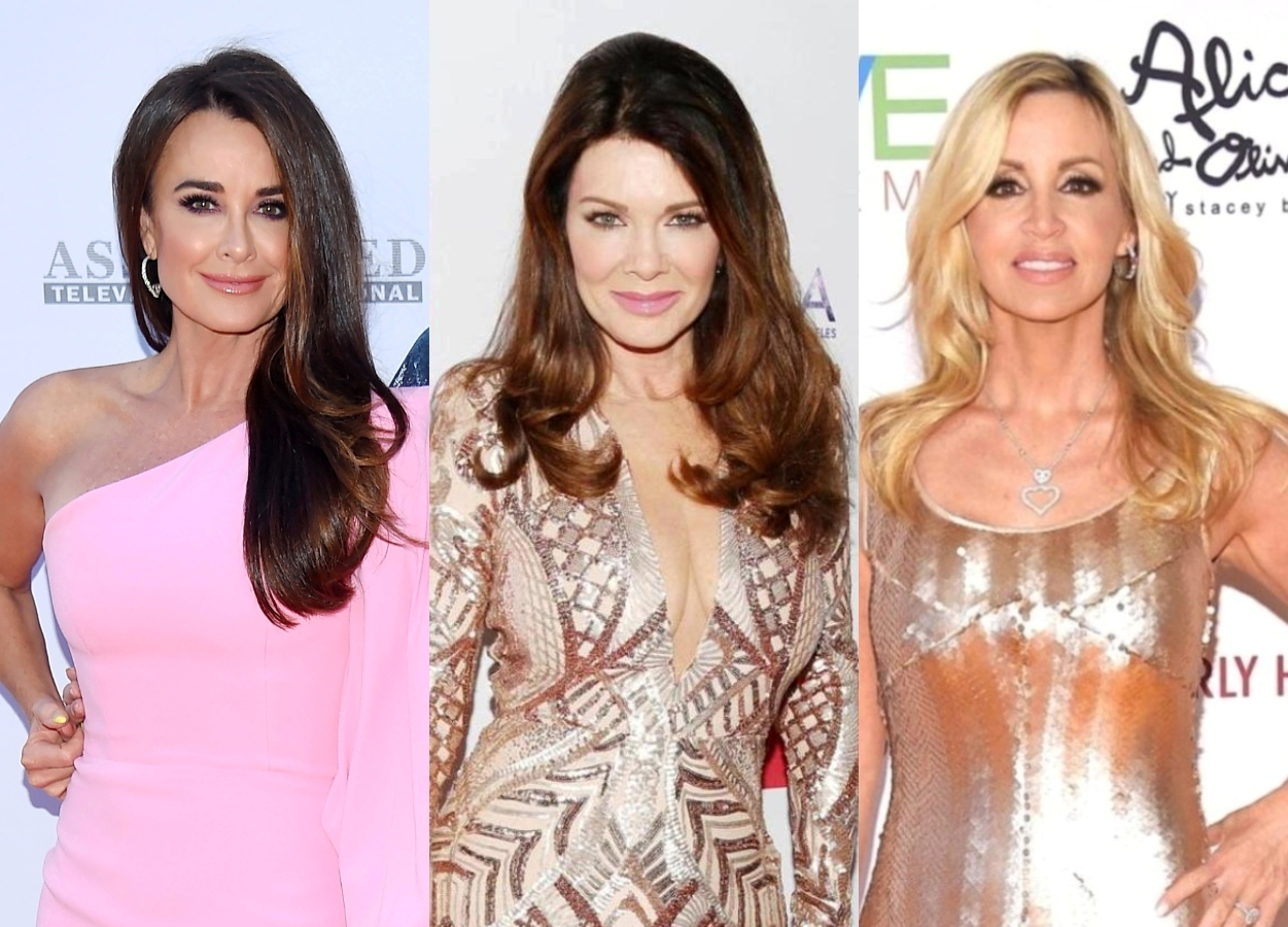 """Kyle Richards Slams Lisa Vanderpump and Camille as """"So Contrived,"""" Says They Talk About 'RHOBH' More Than the Actual Cast, Plus Live Viewing Thread"""