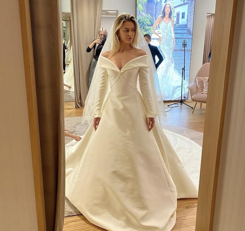 vanderpump rules lala kent wears wedding dress from canceled nuptials