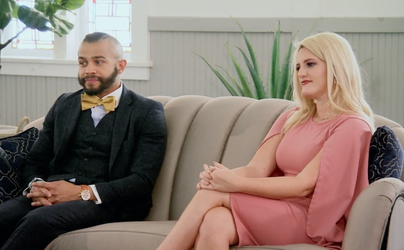 MAFS Ryan Oubre and Clare Fergus on MAFS Decision Day