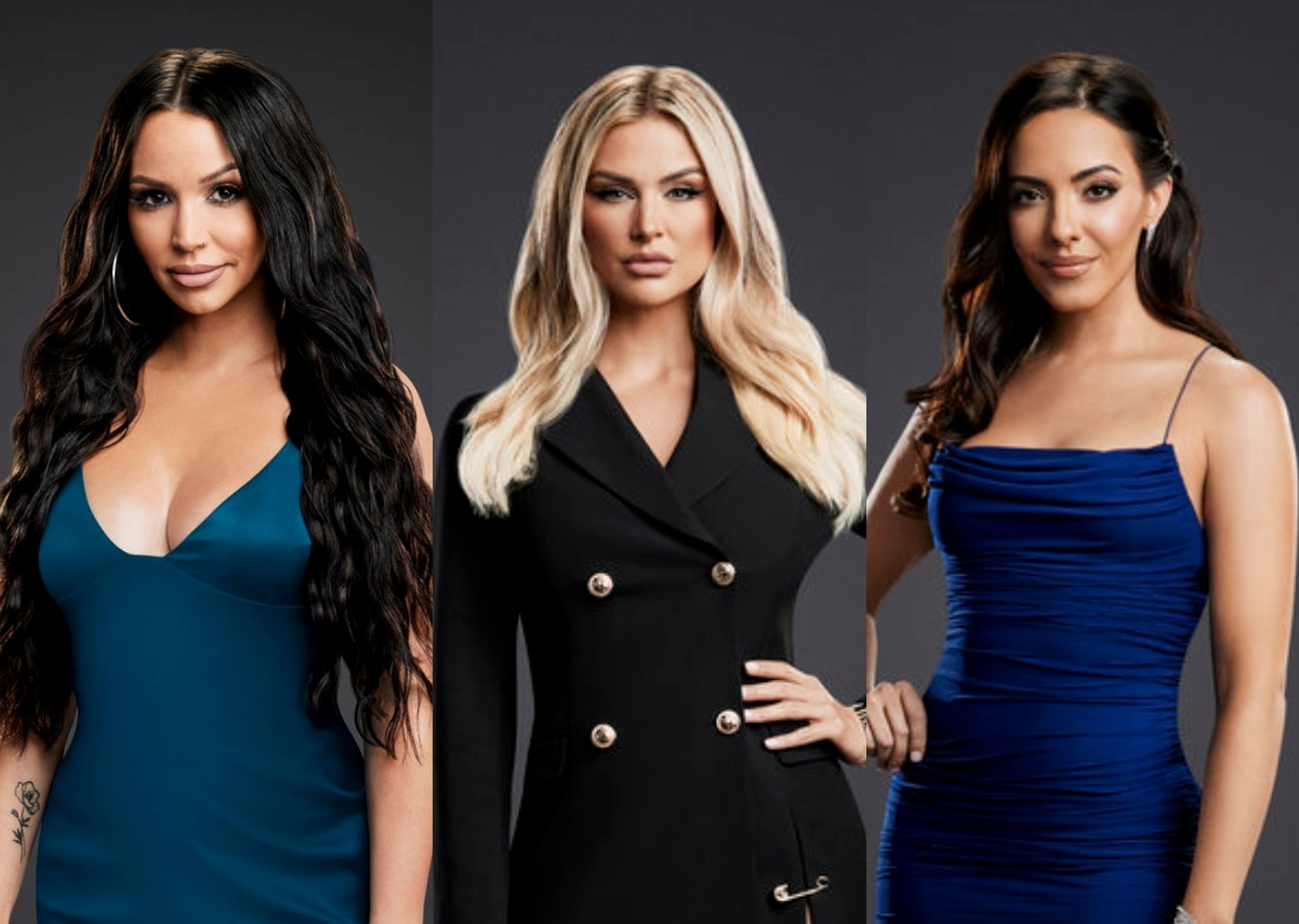 Vanderpump Rules' Scheana Shay Weighs in on Lala Kent's Feud With Charli Burnett, Admits to Being Jealous of Lala's Post-Baby Body, and Reveals If Brock Davies Has Tasted Her Breastmilk