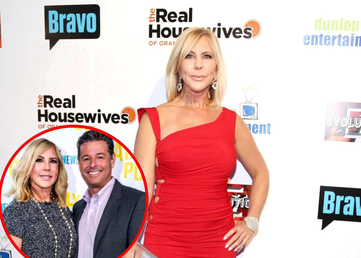 """REPORT: RHOC Alum Vicki Gunvalson Was """"Constantly Crying"""" and """"Struggling"""" With Steve Lodge Split Amid Production on RHUGT Season Two"""
