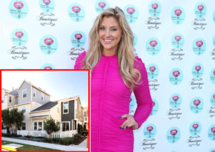 PHOTOS: See Inside RHOC Star Gina Kirschenheiter's 'Well-Designed' New Home, Featuring a Large Kitchen Island, Cozy Living Room, and Traditional Style Master Bedroom